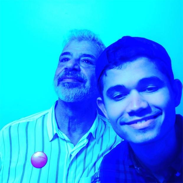 Lulu Santos e o marido, Clebson Teixeira (Foto: Reprodução / Instagram)
