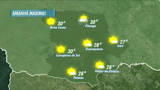 A previsão é de calor pra esta quarta-feira nas cidades da nossa região