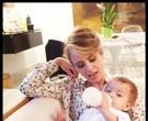 Juliana Silveira  com o filho Bento/ Foto: Arquivo pessoal