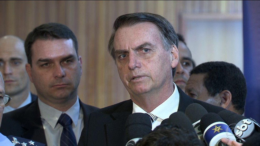 O presidente eleito Jair Bolsonaro — Foto: Reprodução/TV Globo