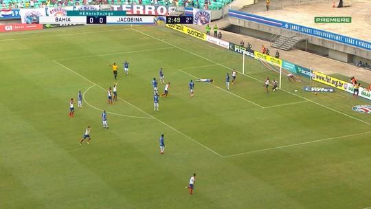 Bahia x Jacobina - Campeonato Baiano 2019 - globoesporte.com