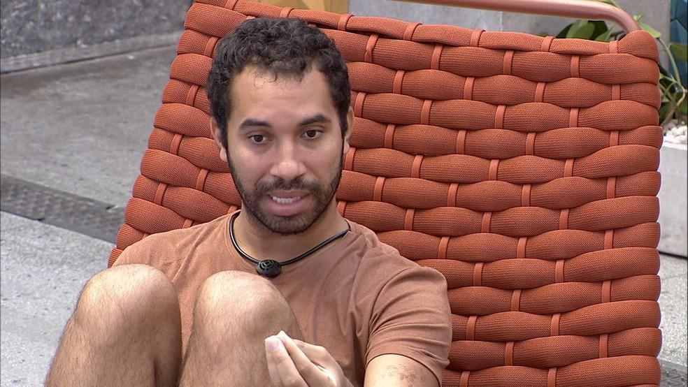 Gilberto revela indicação em sister que não foi ao Paredão do BBB21 e justifica: 'Fazer o jogo se movimentar' — Foto: Globo