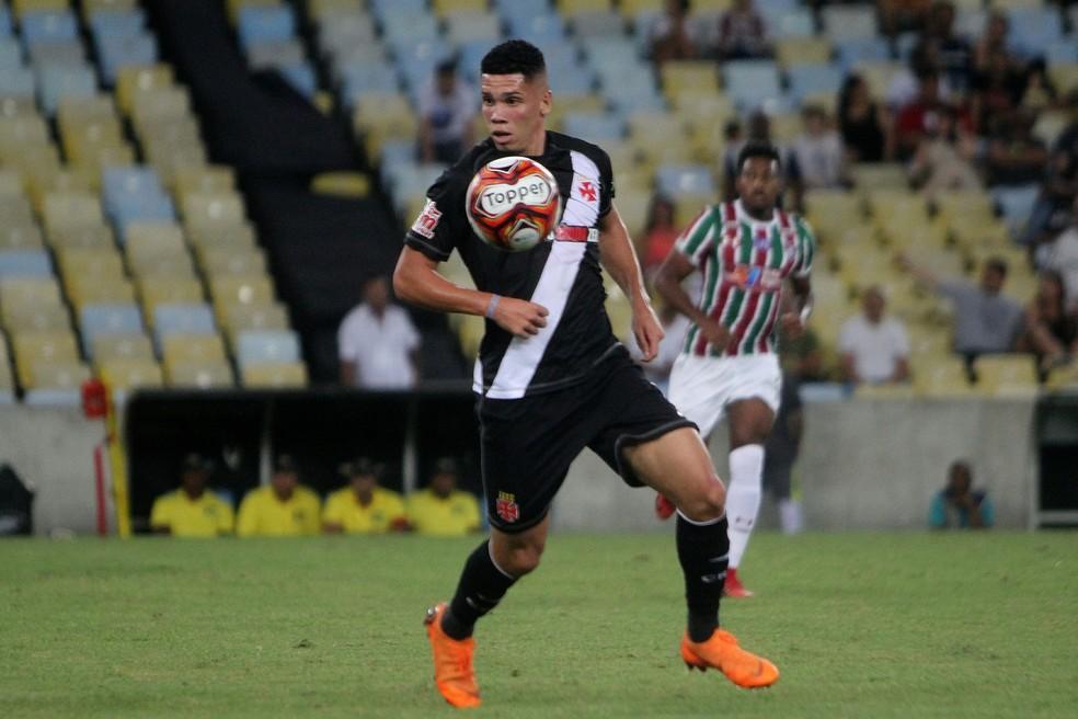 Paulinho na época de Vasco — Foto: Paulo Fernandes/Vasco.com.br