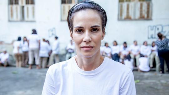 Ana Furtado encarna presa religiosa em 'A Dona do Pedaço' e diz: 'Fé é algo muito importante na minha vida'
