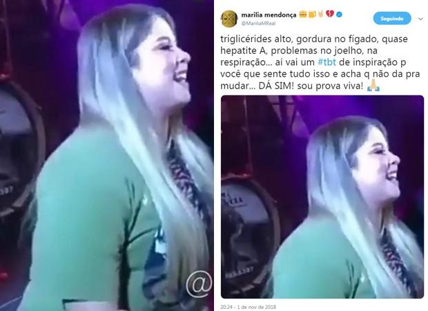 Post de Marília Mendonça (Foto: Reprodução/Instagram)