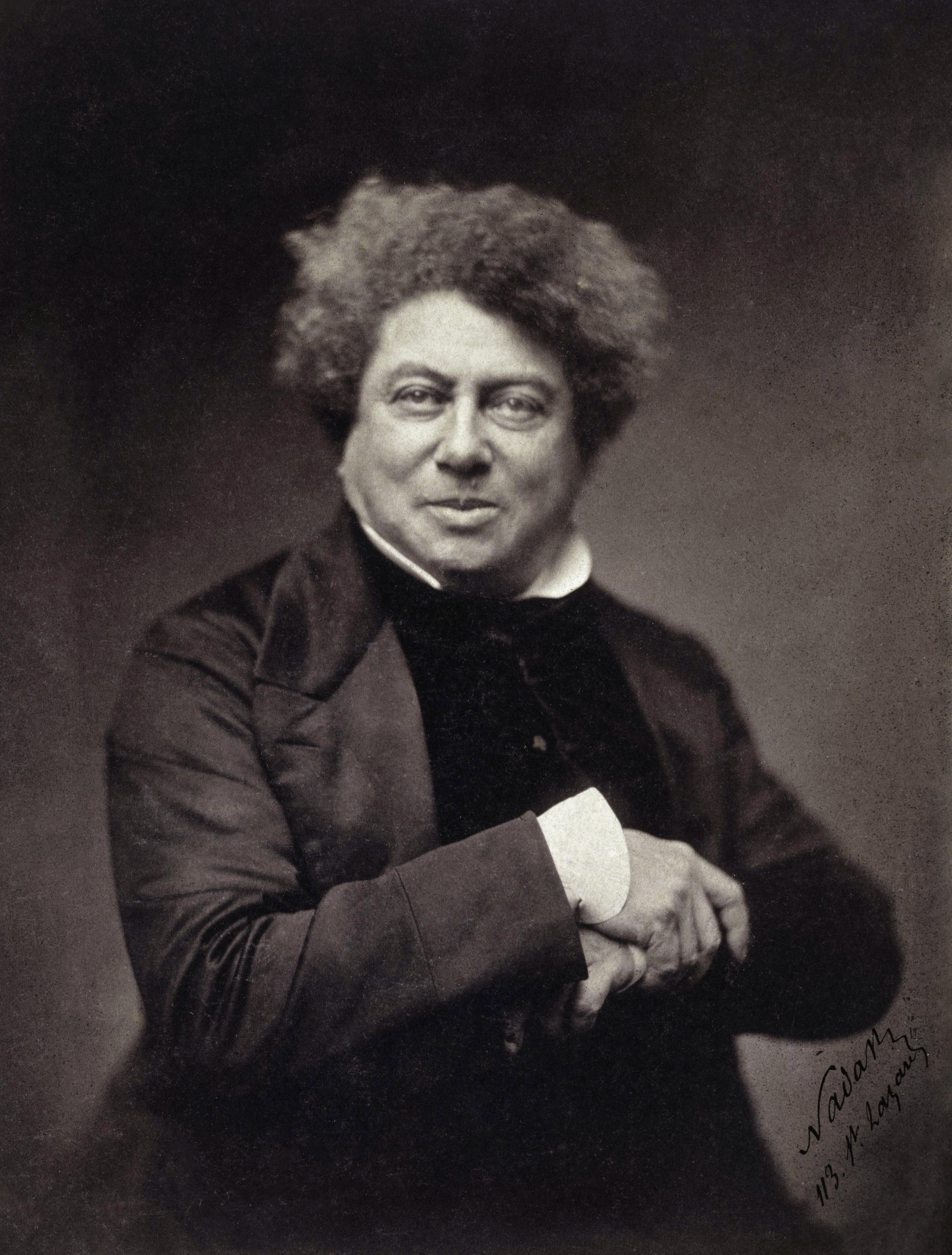 Alexandre Dumas é responsável por alguns dos maiores clássicos da literatura mundial (Foto: Wikimedia/Google Cultural Institute)