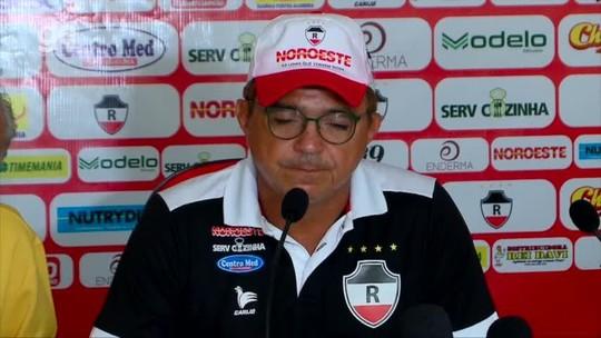 """Flávio reconhece fase ruim do River-PI e promete dias melhores: """"Voltei para ficar e dar alegrias"""""""