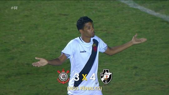 """Finalista da Copinha, técnico do Vasco vê time ainda longe do ápice: """"Vai desenvolver mais"""""""