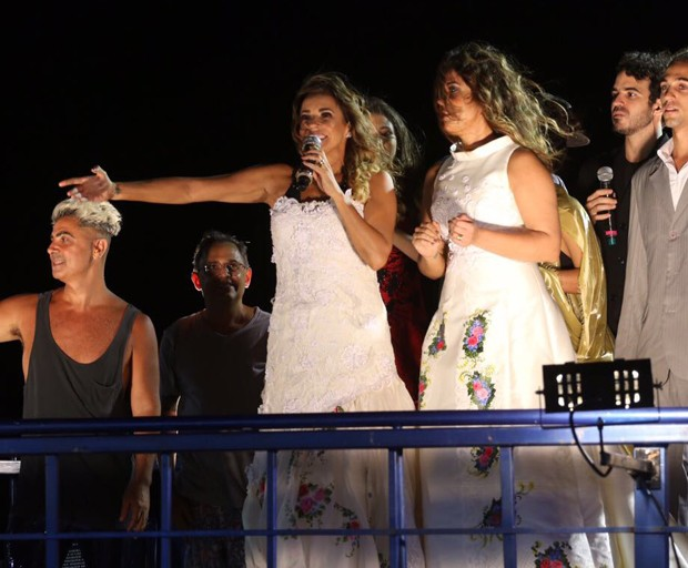 Daniela Mercury e Malu Verçosa (Foto: Alex Yamane /agfpontes/divulgacao)