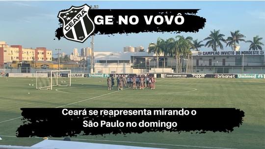 Ceará se reapresenta com reservas em campo e titulares na academia
