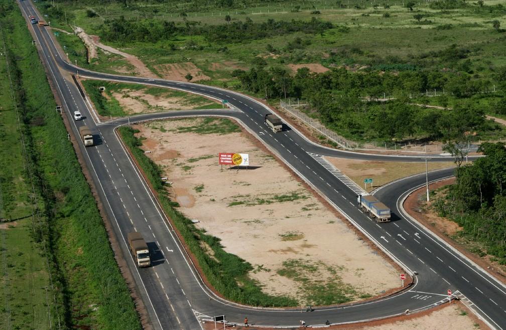 Corredores rodoviários têm promovem a conexão entre os territórios de um ou mais estados. — Foto: Secom/Divulgação
