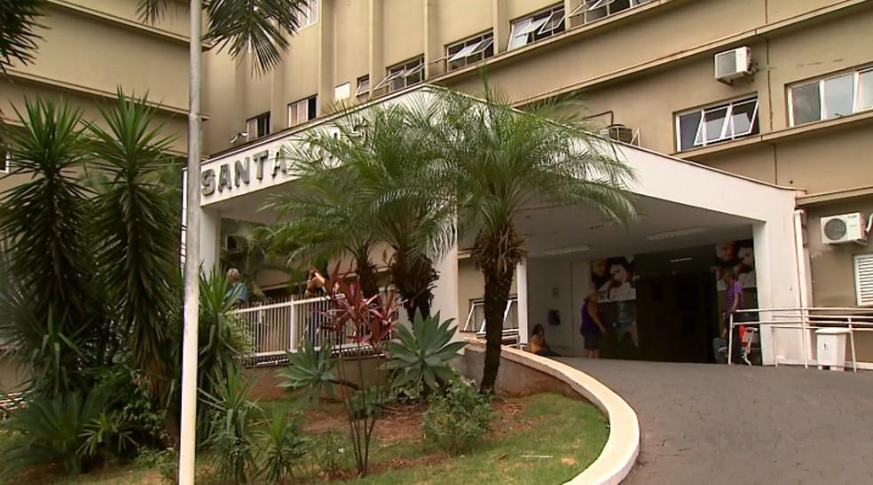 Santa Casa de Barretos (Foto: Reprodução/EPTV)