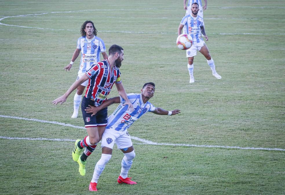 Paysandu x Santa Cruz, primeira rodada da Série C do Brasileiro 2020 — Foto: Jorge Luiz/Paysandu
