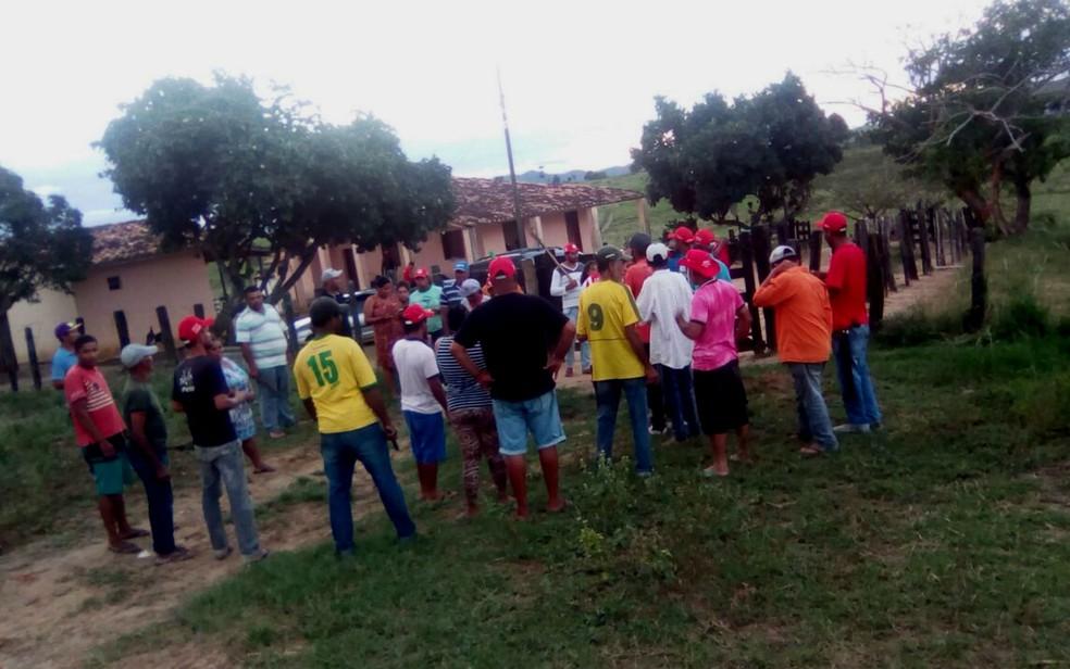 MST invade fazenda da família de Geddel no sudoeste da Bahia (Foto: Divulgação/MST)