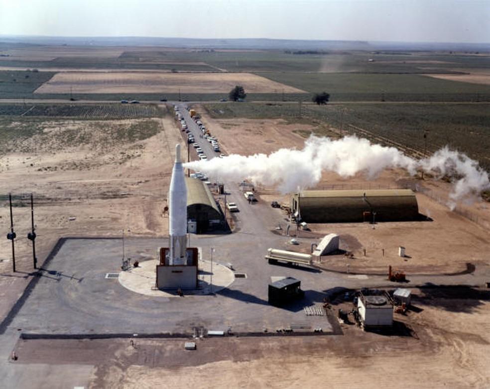 Locais de lançamento de mísseis americanos já tiveram segurança duvidosa — Foto: Divulgação