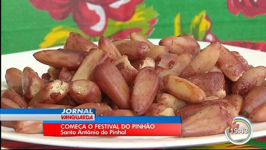Festival da truta e pinhão reúne moradores e turistas em Santo Antônio do Pinhal
