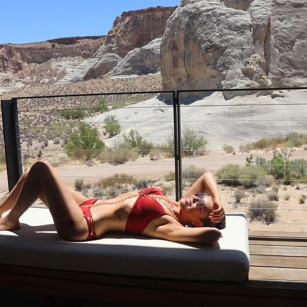 Thalia em foto no Instagram (Foto: reprodução/instagram)