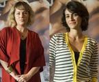 As atrizes Karine Teles e Quitéria Kelly | TV Globo