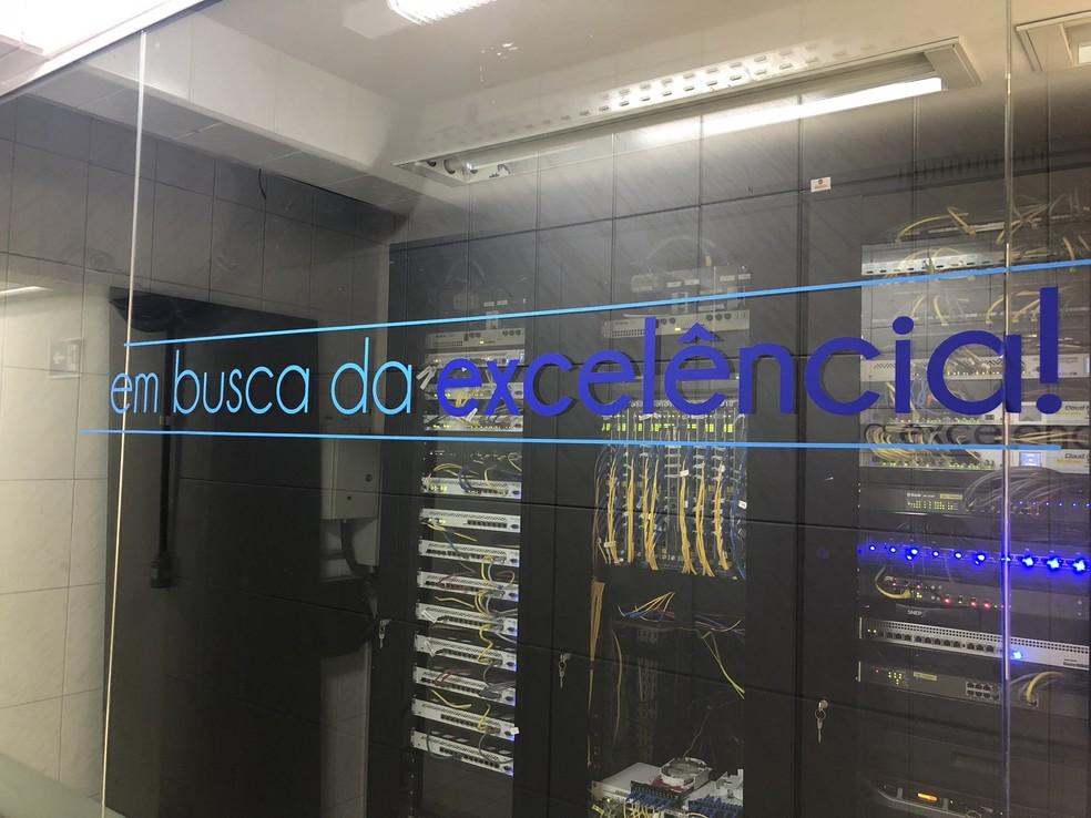 One Center oferece tecnologia de acesso à internet mais moderna, via fibra ótica com ultra velocidades (Foto: One Center/Divulgação)