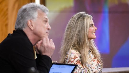 Bruna Lombardi diz dispensar o 'tempo' em sua vida: 'Não tem nem número na nossa casa'