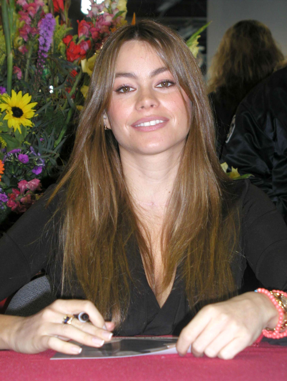 A atriz Sofía Vergara em foto de 2002 (Foto: Getty Images)