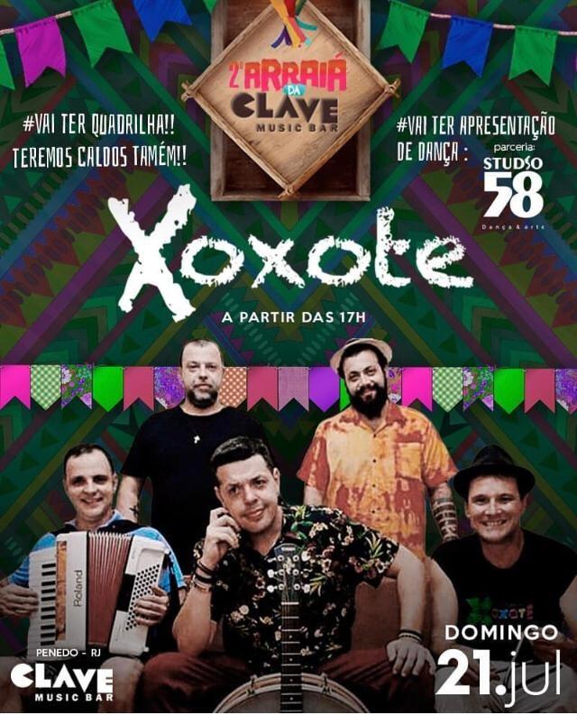 Grupo Xoxote faz arraiá animado e com quadrilha julina em Penedo - Notícias - Plantão Diário