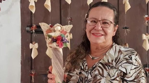 Fatinha faz sucesso como artesã (Foto: Reprodução/instagram/fatinhafibrasefios)