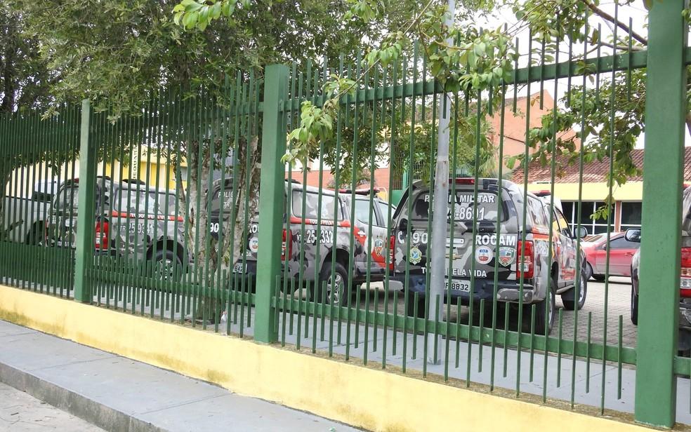 Unidade Prisional do Puraquequara (UPP), na Zona Leste de Manaus — Foto: Suelen Gonçalves