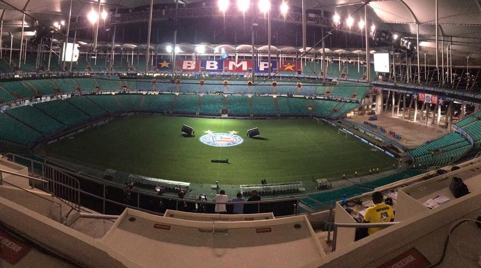 ... Bahia encara a Chapecoense na Fonte Nova pelo Campeonato Brasileiro —  Foto  Divulgação EC fee857e872ad6