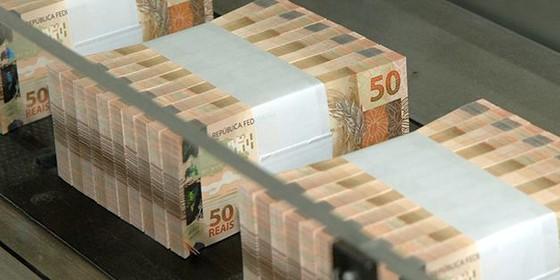 Dinheiro empacotado na Casa da Moeda (Foto: Divulgação)