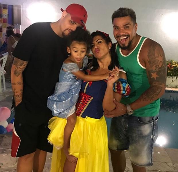 Pablo Jorge, Maria Victória, Ellen Cardoso e Naldo Benny (Foto: Reprodução/Instagram)