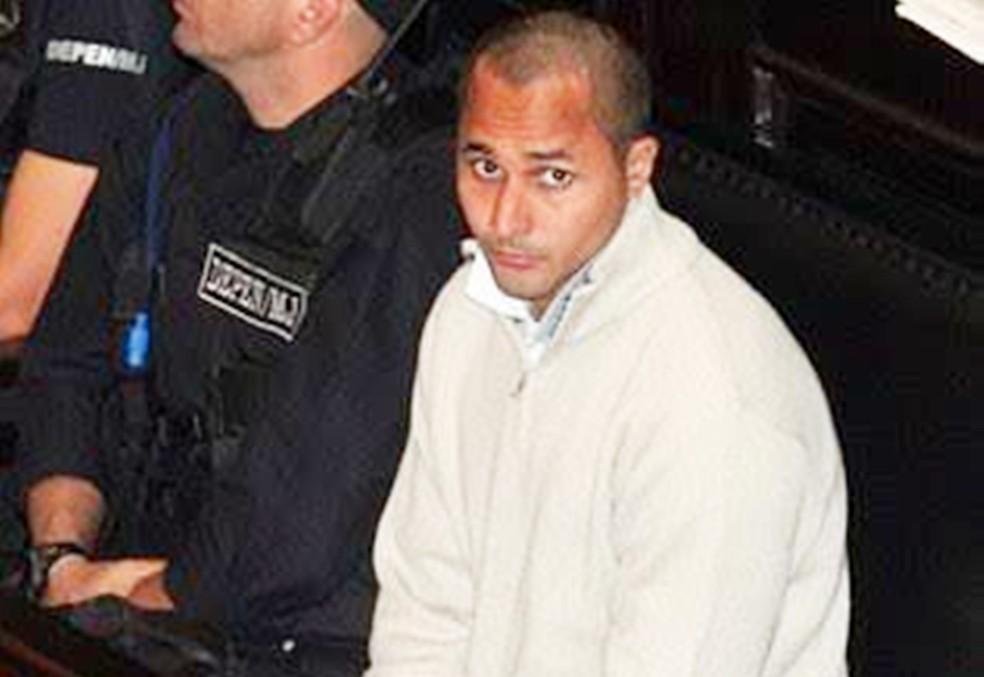 Márcio dos Santos Nepomuceno, o Marcinho VP, atualmente cumpre pena por tráfico na Penitenciária Federal de Mossoró (Foto: Divulgação/defesa do preso)