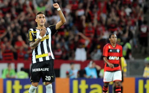 Rafael Marques gol Botafogo (Foto: André Durão / Globoesporte.com)