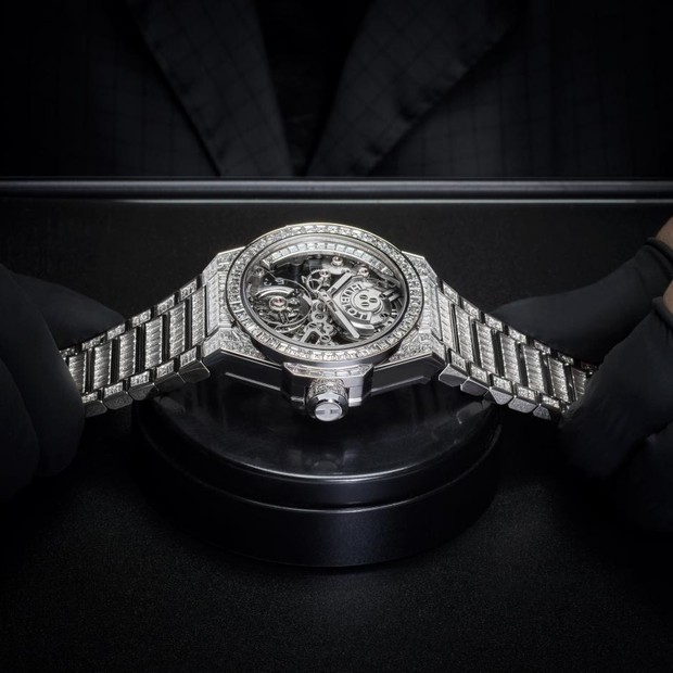 Hublot Big Bang Integral Tourbillon High Jewellery (Foto: Hublot)