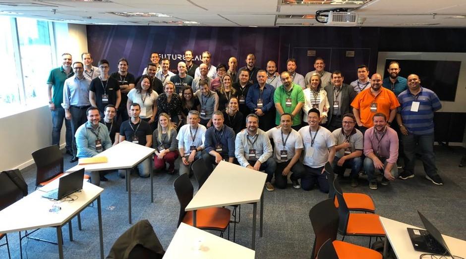 Vencedores do Accelerator Day for Taxtech & Comextech (Foto: Divulgação)