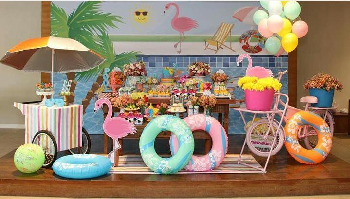 Tema De Festa Pool Party Crescer Festa De Anivers 225 Rio