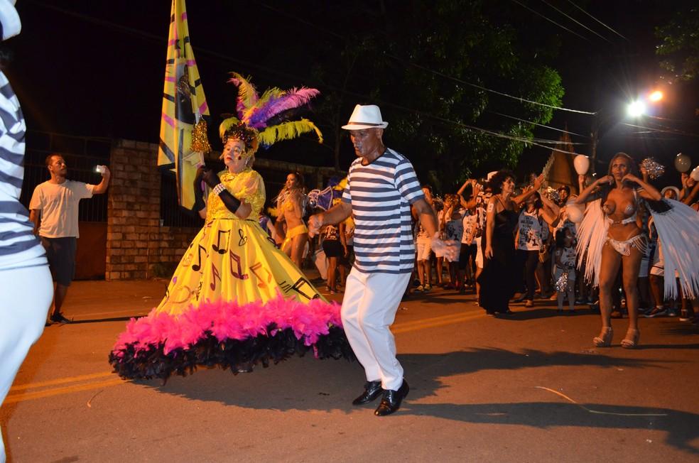Carnaval ocorre em 14 bairros de Rio Branco, na Gameleira e no Mercado Velho (Foto: Caio Fulgêncio/G1)