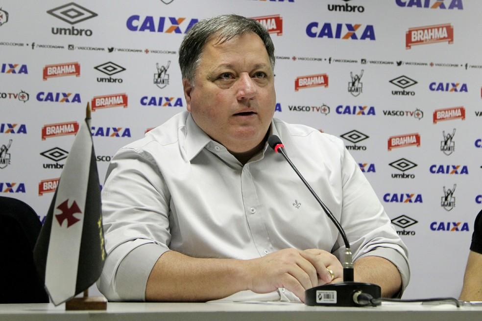 Anderson Barros está de saída do Vasco após um ano como gerente de futebol (Foto: Paulo Fernandes / Vasco)