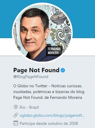 Twitter do Page Not Found