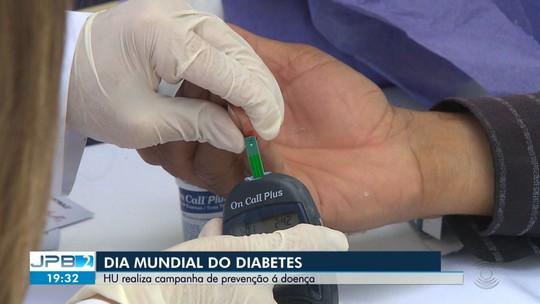 HU realiza campanha de prevenção ao diabetes