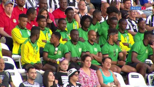 Sub-23 da Guiana aprende com aula do Atlético-MG sobre o Botafogo