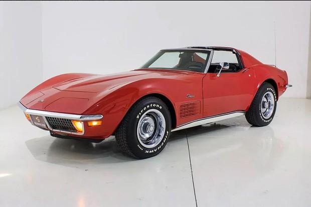 Chevrolet Corvette 1972 (Foto: Reprodução Mercado Livre)