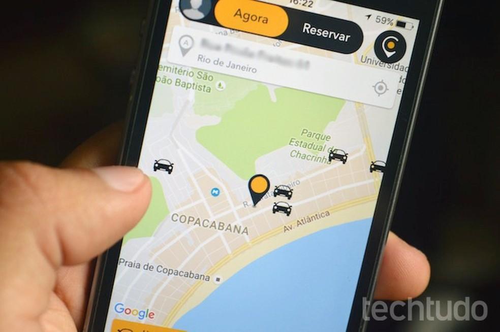 Veja como trocar a senha e recuperar acesso ao Cabify pelo celular (Foto: Marvin Costa/TechTudo)