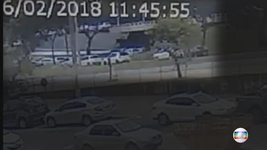Desabamento no Eixão: veja vídeo exclusivo do momento exato da queda