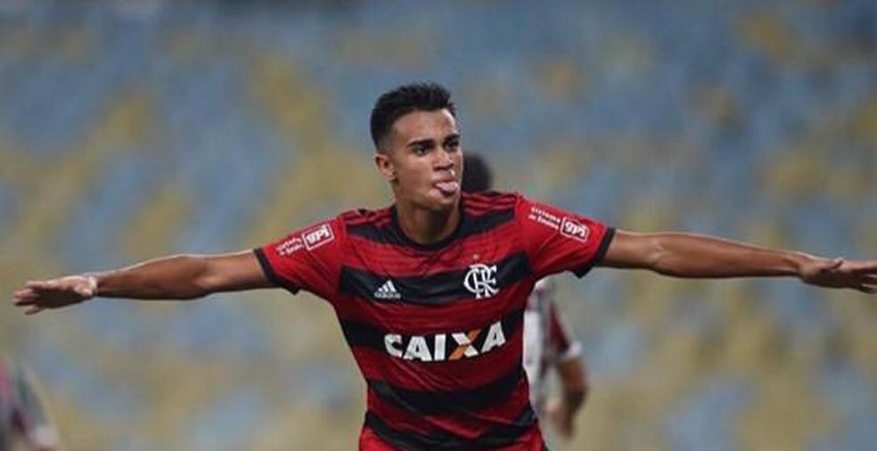 Reinier foi campeão da Copa do Brasil sub-17 em dezembro do ano passado — Foto: Reprodução / Instagram