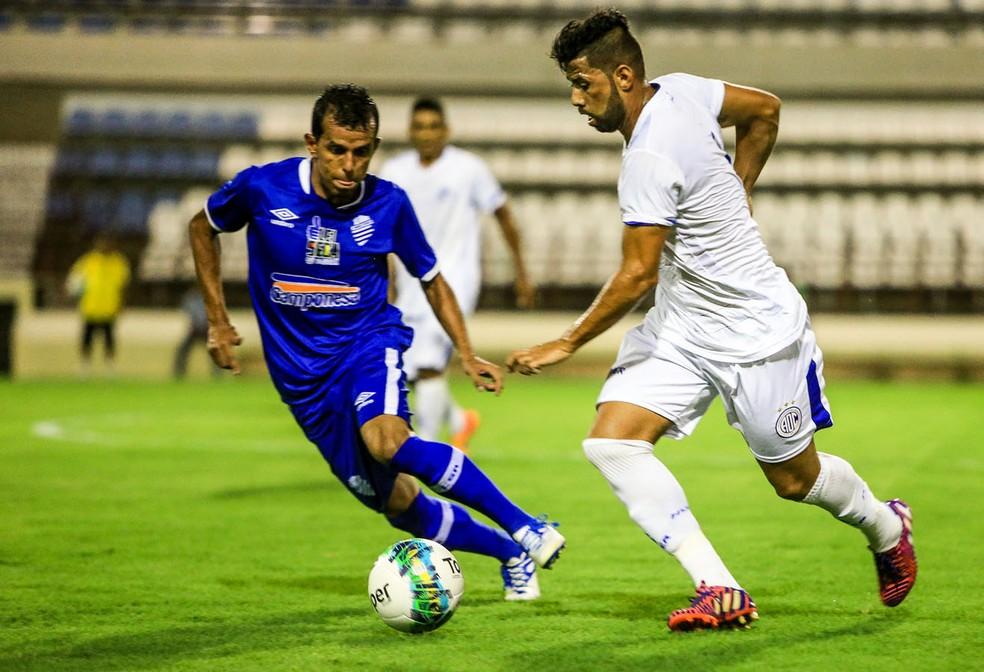 CSA fez dois amistosos na pré-temporada deste ano: dois contra o Confiança e um diante do CSE (Foto: Ailton Cruz / Gazeta de Alagoas)