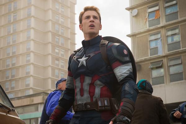 O ator Chris Evans como o herói Capitão América (Foto: Reprodução)