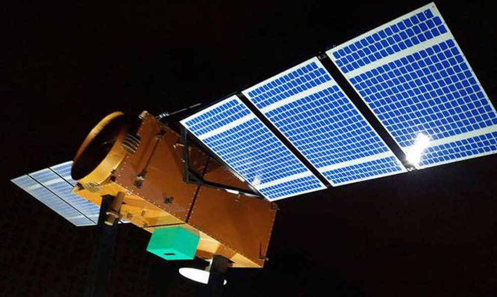 Amazônia 1 está em órbita no espaço e envia primeiras imagens — Foto: Dovulgação/Inpe