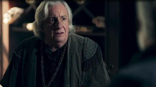Afonso, personagem de Romulo Estrela, é dado como morto e notícia chega a Artena