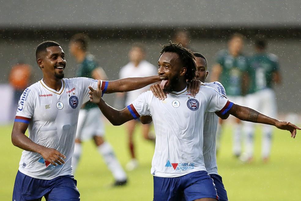 Gustavo tem pré-contrato com o Bahia — Foto: Felipe Oliveira / Divulgação / EC Bahia